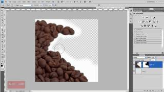 Transparent Layer - Photoshop How To [60 Seconds]