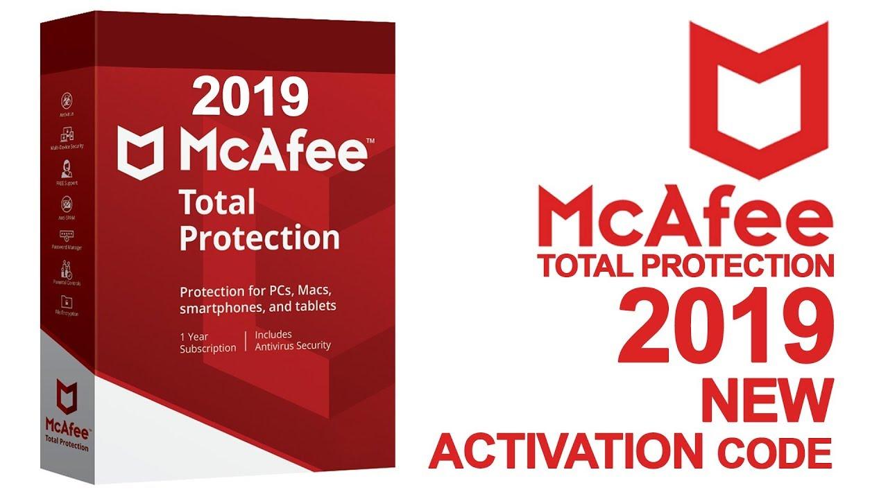McAfee 2019 Activation Codes