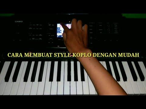 Cara membuat style Koplo di Casio Mzx 300