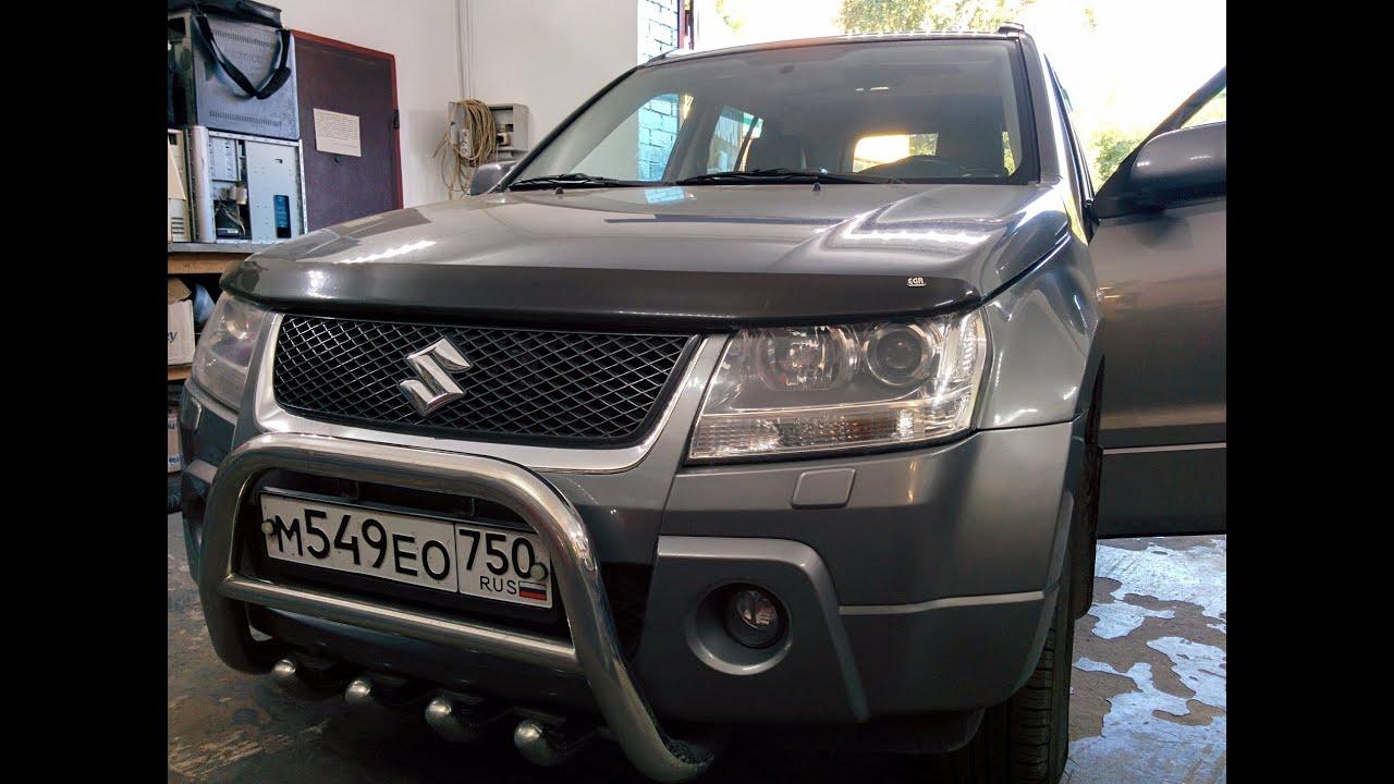 Suzuki Grand Vitara - Чип-Тюнинг  и перевод на Евро-2