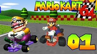 Mario Kart 64 - Mushroom Cup