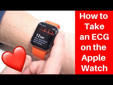 How to take an ECG on the Apple Watch