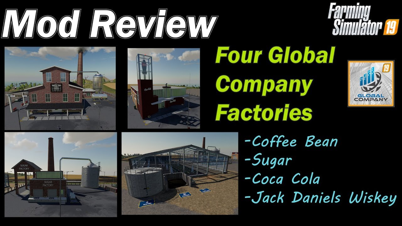 Mod Review Coffee Bean Sugar Coca Cola And Whiskey Production