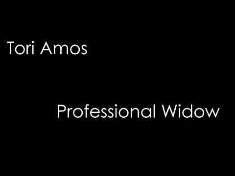 Tori Amos - Professional Widow (lyrics)