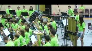 Orpheus Overture  -- The 2009 PWC Concert Band Camp Concert