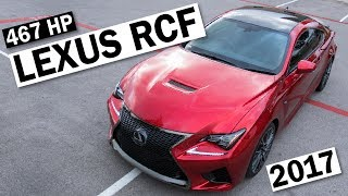 2017 LEXUS RC F DRIVING REVIEW - 1 Month Later
