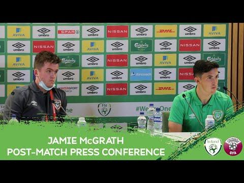 POST-MATCH PRESS CONFERENCE | Jamie McGrath