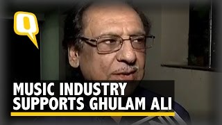 Indian Music Industry Supports Ghulam Ali on Social Media