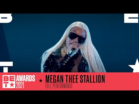 Megan Thee Stallion In A Lit Performance Of 'Thot Shi*t'   BET Awards 2021