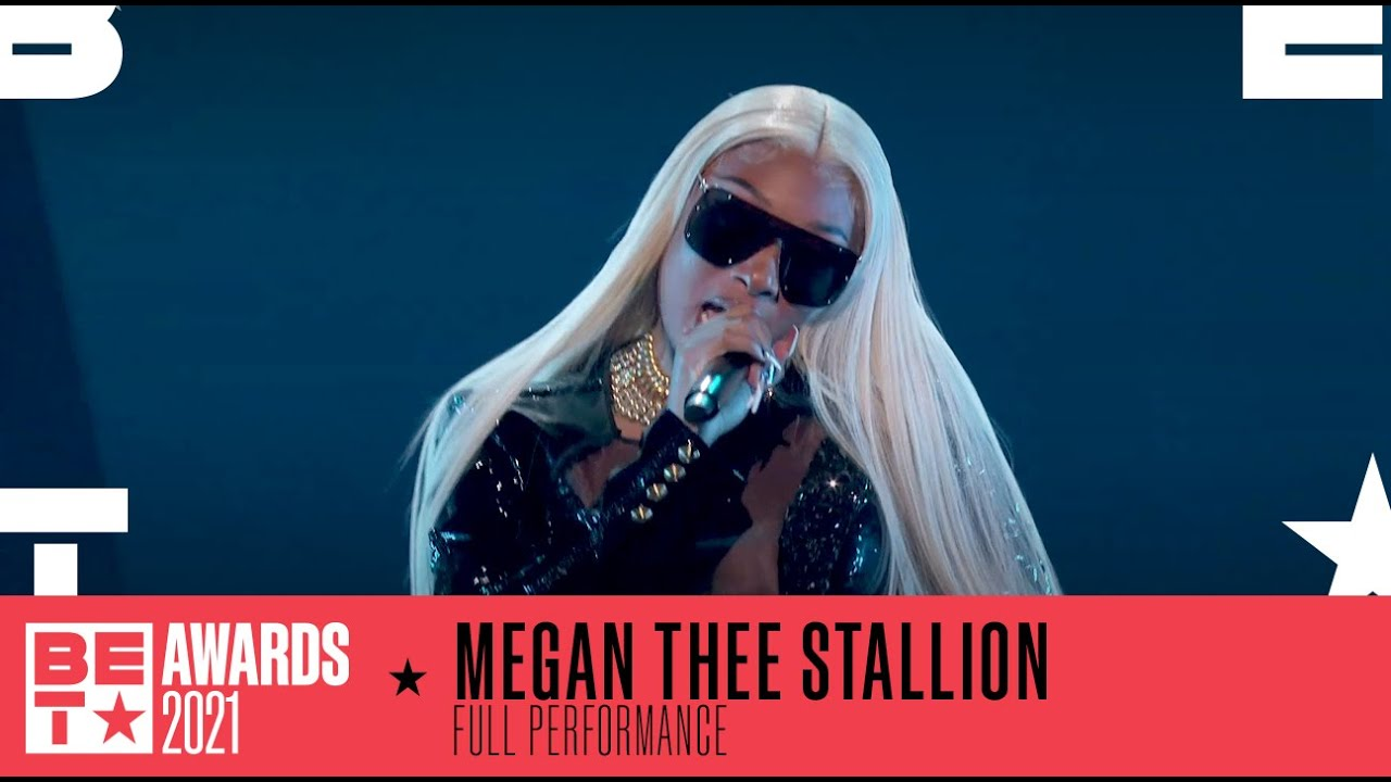 Download Megan Thee Stallion In A Lit Performance Of 'Thot Shi*t'   BET Awards 2021