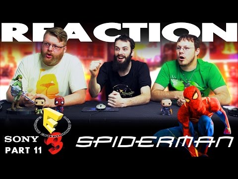 Spiderman PS4 Trailer REACTION!! Sony E3 2016 Conference 11/12