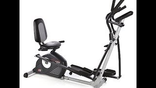ProForm Trainer Elliptical and Recumbent Bike