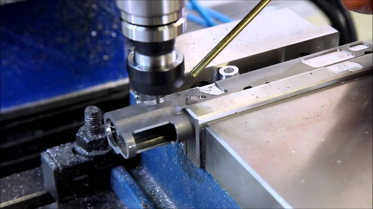 Open Gun Slide Work Part 2 - CNC slide lightening 3D surfacing