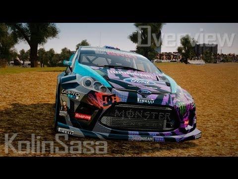 Ford Fiesta Gymkhana - Ken Block (Hoonigan) 2013
