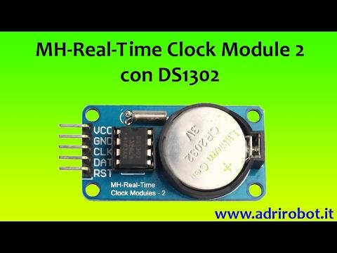 Test modulo RTC con DS1302