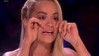 Judge Rita Ora Of X Factor Cried After The Touching Performance of Louisa