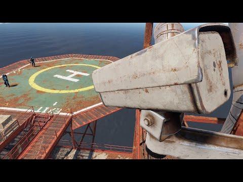Rust - Глобальный контроль РТ с помощью видеокамер!