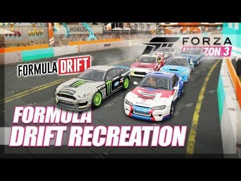 Forza Horizon 3 - Formula Drift in Forza!!! (