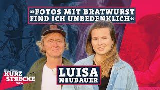 Luisa Neubauer hört nicht auf, Eierlikör zu trinken