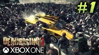 Dead Rising 3 Gameplay Walkthrough Part 1 - Next Gen Zombie Survival! - DR3 Xbox One Livestream