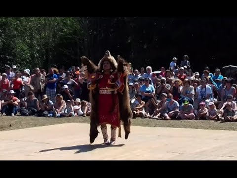 AMERINDIAN' DANCES — Festival Nations Indiennes — Languidic 2017