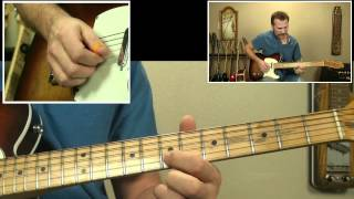 Tequila Makes Her Clothes Fall Off - Guitar Solo Lesson