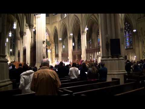 Video#820 St. Patrick's Cathedral NYC