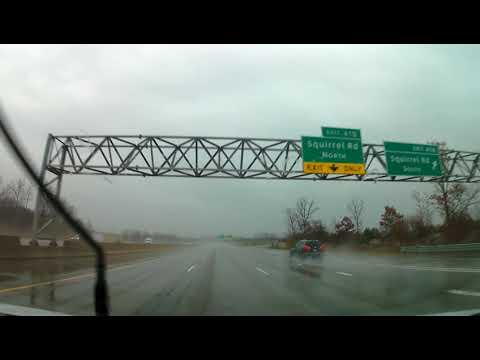 Driving from Bloomfield, Michigan to Sterling Heights, Michigan
