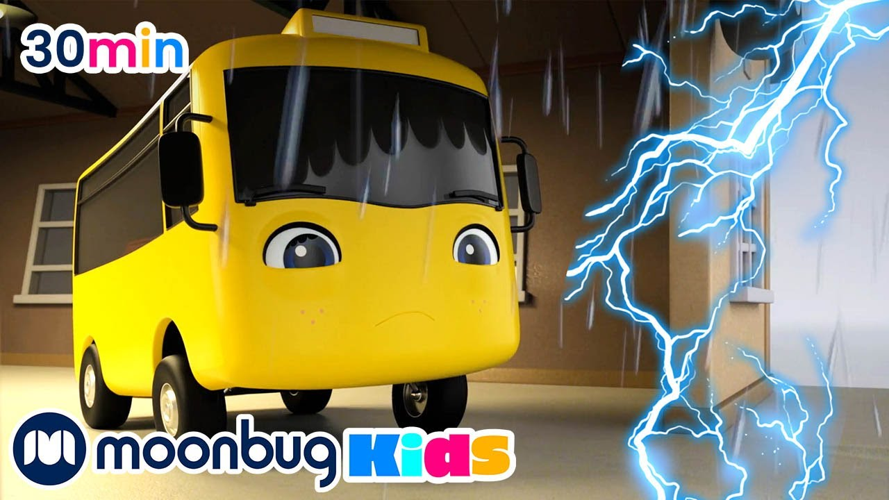 Buster und der Sturm | Kinderlieder und Cartoons | Go Buster Deutsch | Moonbug Kids