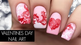Romantic Valentines Day Nail Art Tutorial