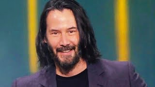 "KEANU REEVES says ""You're breathtaking"" (E3 2019, Cyberpunk 2077)"