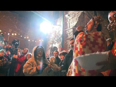 Orthodox Christians in Bosnia begin Christmas celebration