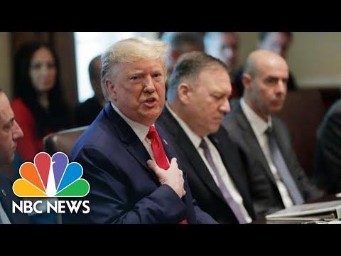 President Donald Trump Knocks 'Phony Emoluments Clause' Defending Doral G-7 Pick | NBC News