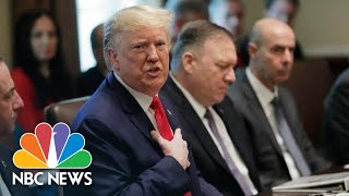 President Donald Trump Knocks 'Phony Emoluments Clause' Defending Doral G-7 Pick | NBC News