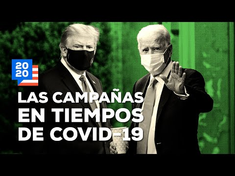 ¿Cómo fueron las campañas en EUA durante la pandemia de COVID-19?