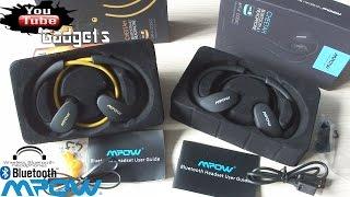 Обзор спортивная гарнитура Mpow Cheetah Headphones Sport Bluetooth Аliexpress