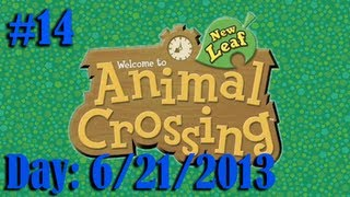 Animal Crossing: New Leaf (Part 14) (Day: 6/21/2013) The Summer Solstice and Piggy Bank Remake!