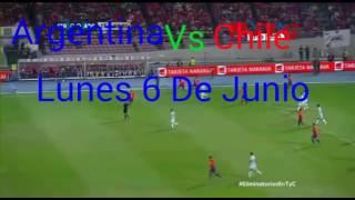 Argentina Vs Chile Horario |Copa America Centenario 2016|