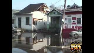 Dramatic footage of Hurricane Katrina damage from 5 years ago