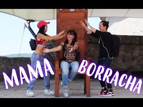 MI MAMA SE PUSO BORRACHA EN ESTE VIDEO *ES MUY GRACIOSO* XD