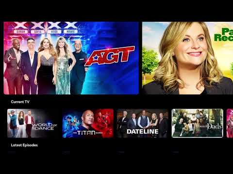 First Look at the NBC Universal Peacock Streaming App on ...