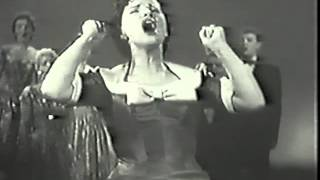 Kay Starr, Tyrone Power, 1955 TV Hit Medley