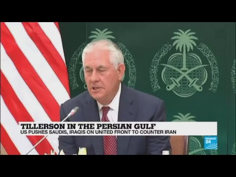 "Rex Tillerson in Saudi Arabia: ""Iranian militias in Iraq need to go home!"""