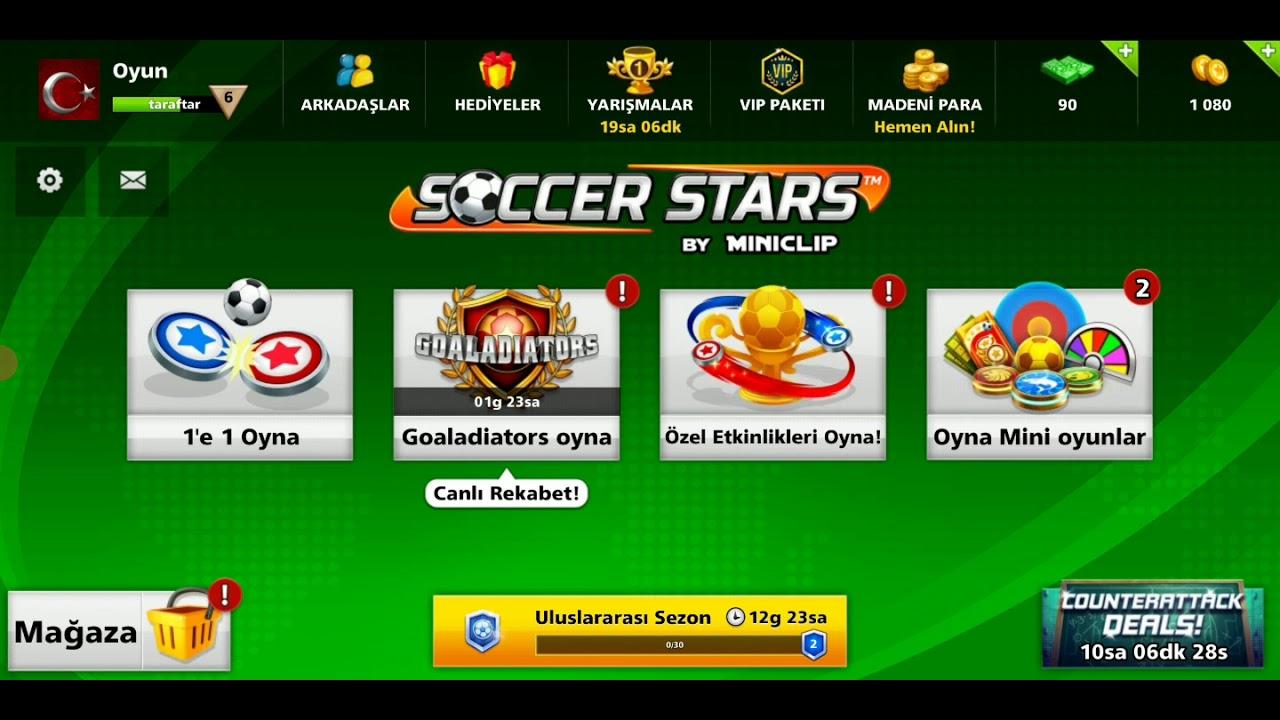 Soccer Stars' da nasıl arkadaş eklenilir