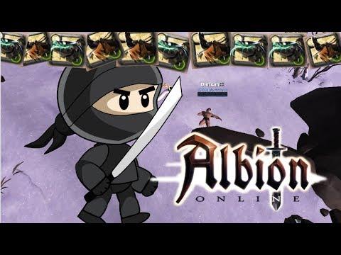 The Albion Ninja (Solo PvP)
