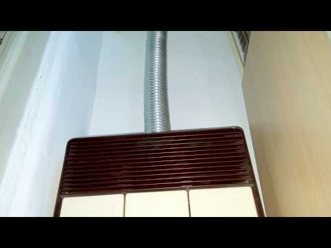 Natural gas home heater startup