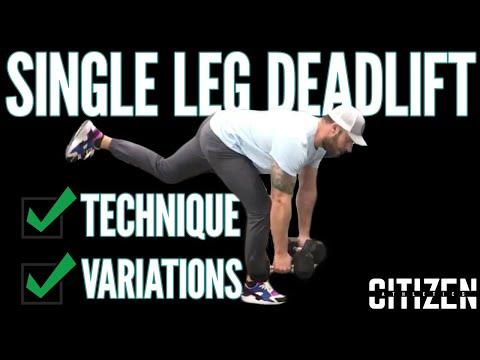 Single Leg Deadlift Tips & Variations for Stronger Glutes & Hamstrings