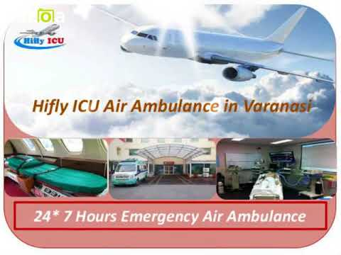 Emergency Patient Transfer by Hifly ICU Air ambulance from Delhi