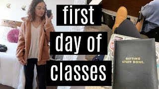 college day in my life: first day of classes