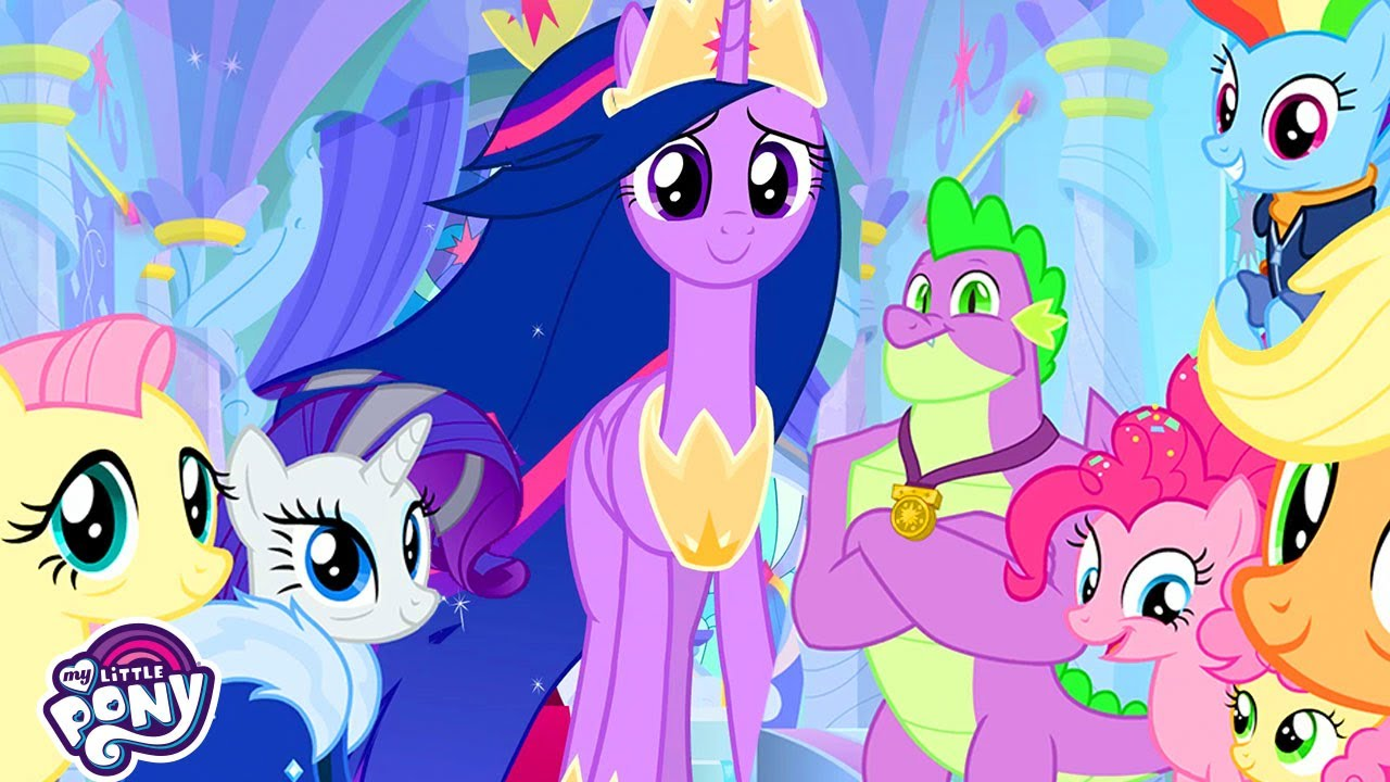 My Little Pony Songs The Magic Of Friendship Grows The Last Problem Mlp Fim Mlp Songs Youtube